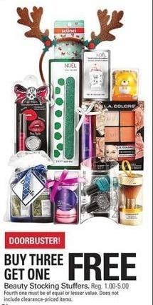 Shopko Black Friday: Beauty Stocking Stuffers - B3G1 Free