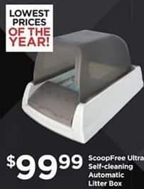 Petco Black Friday: ScoopFree Ultra Self-Cleaning Automatic Litter Box for $99.99