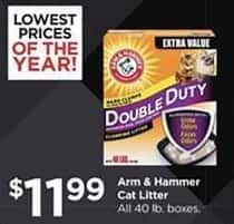 Petco Black Friday: Arm & Hammer Cat Litter, All 40 lb Boxes for $11.99