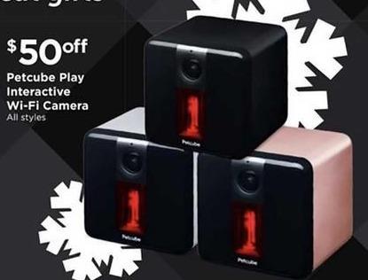 Petco Black Friday: Petcube Play Interactive Wi-Fi Camera - $50 Off