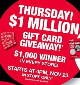 Belk Black Friday: Belk Gift Card Giveaway, Thursday November 23rd ...