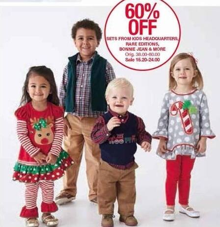 Belk Black Friday: Kids Clothing Sets from Rare Editions, Bonnie Jean and More - 60% Off