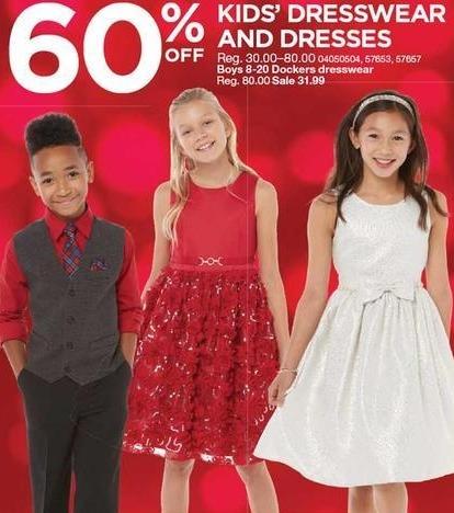 Sears Black Friday: Dockers Boys' Dresswear size 8-20 for $31.99