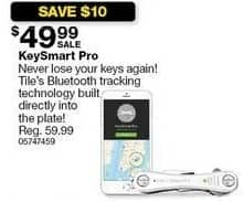 Sears Black Friday: KeySmart Pro Key Organizer w/Tile Smart Location for $49.99