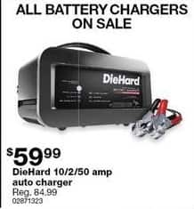 Sears Black Friday: DieHard 10/2/50 Amp Auto Jump Starter for $59.99