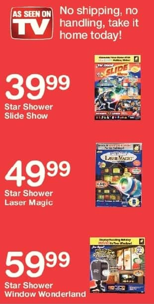 Walgreens Black Friday: Star Shower Window Wonderland for $59.99