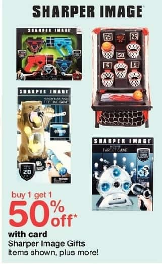 Walgreens Black Friday: Sharper Image Gifts, Select Items, w/Card - B1G1 50% Off