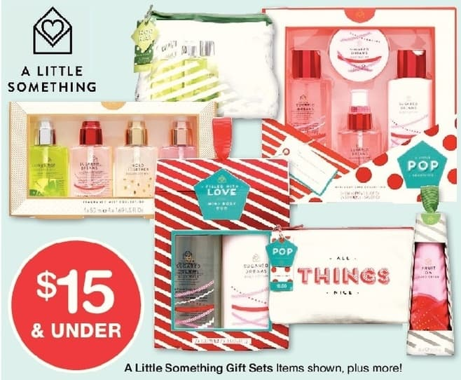 Walgreens Black Friday: A Little Something Gift Sets, Select Varieties, w/Card - $15 or Less