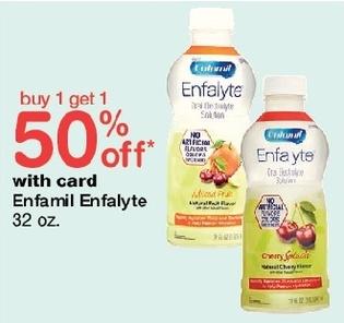 Walgreens Black Friday: Enfamil Enfalyte 32 oz - B1G1 50% Off
