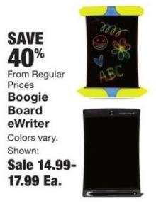 Fred Meyer Black Friday: Boogie Board eWriter - 40% Off