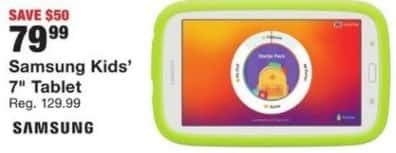 "Fred Meyer Black Friday: Samsung 7"" Kids Tablet for $79.99"