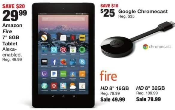 "Fred Meyer Black Friday: 16GB Amazon Fire HD 8"" Tablet for $49.99"