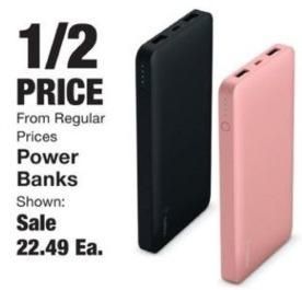 Fred Meyer Black Friday: Power Banks - 50% Off