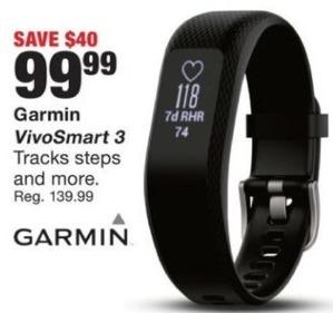 Fred Meyer Black Friday: Garmin VivoSmart 3 for $99.99