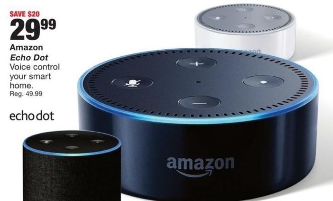Fred Meyer Black Friday: Amazon Echo Dot for $29.99