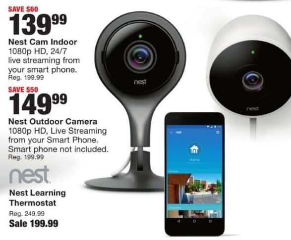 Fred Meyer Black Friday: Nest Outdoor 1080p Camera for $149.99