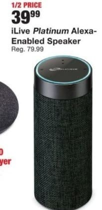 Fred Meyer Black Friday: iLive Platinum Alexa-Enabled Speaker for $39.99