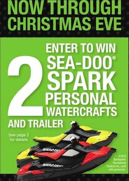 Bealls Florida Black Friday: 2 Sea-Doo Spark Personal Watercrafts - Chance to Win
