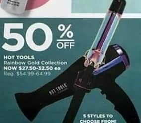 Ulta Beauty Black Friday: Hot Tools Rainbow Gold Collection Hair Tools, Select Styles - 50% Off