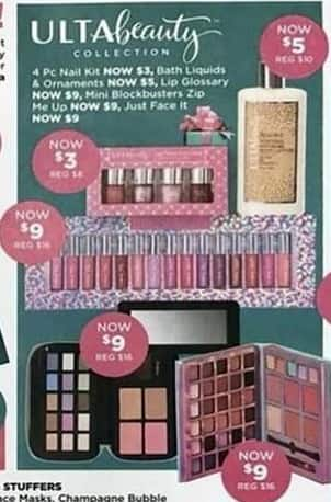 Ulta Beauty Black Friday: Ulta Beauty 4 pc Nail Kit for $3.00