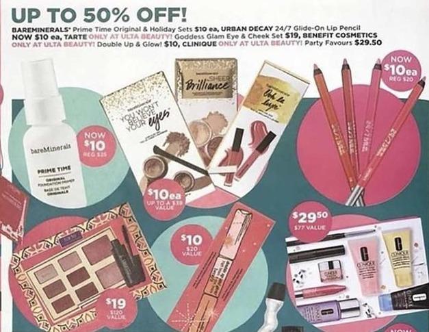 Ulta Beauty Black Friday: Bareminerals Prime Time Original & Holiday Sets for $10.00