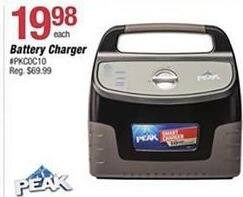 Pep Boys Black Friday: Peak 10 Amp Battery Charger for $19.98