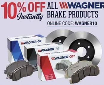 Pep Boys Black Friday: All Wagner Brake Products - 10% Off