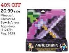 Toys R Us Black Friday: Minecraft Enchanted Bow & Arrow for $20.99