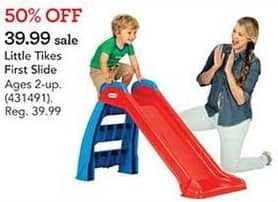 Toys R Us Black Friday: Little Tikes First Slide for $39.99