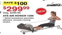 Dunhams Sports Black Friday: Stamina ATS Air Rower 1399 for $299.99