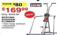 Dunhams Sports Black Friday: Champ BCR1000 Stepper Climber for $169.99