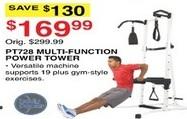 Dunhams Sports Black Friday: Body Power PT728 Multi Function Power Tower for $169.99
