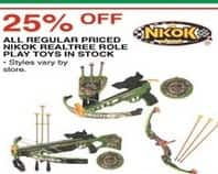 Dunhams Sports Black Friday: All Nikok Realtree Regular Price Role Play Toys - 25% Off