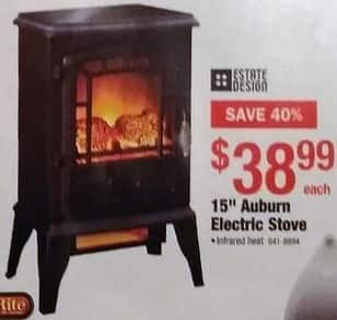 Menards Black Friday Estate Design 15 Auburn Electric Stove For