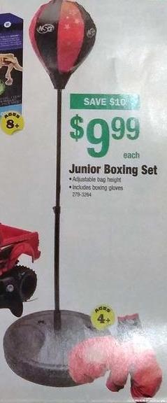 Menards Black Friday: Junior Boxing Set for $9.99