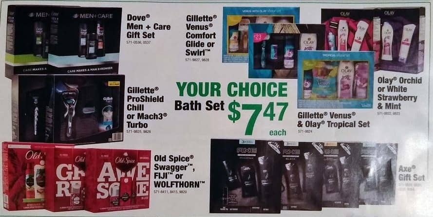 Menards Black Friday: Gillette Venus & Olay Tropical Gift Set for $7.47