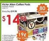 Rural King Black Friday: Victor Allen Coffee Pods Variety Pack, 80-ct for $14.98