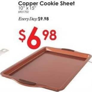 """Rural King Black Friday: Copper Cookie Sheet 10"""" x 15"""" for $6.98"""