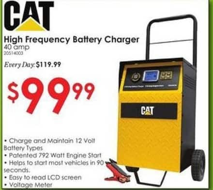 Rural King Black Friday: CAT High Frequency Battery Charger, 40 amp for $99.99