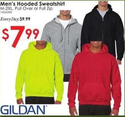 Rural King Black Friday: Gildan Men's Hooded Sweatshirt for $7.99