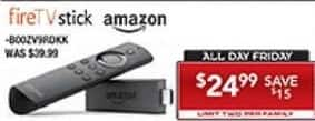 PC Richard & Son Black Friday: Amazon Fire TV Stick for $24.99