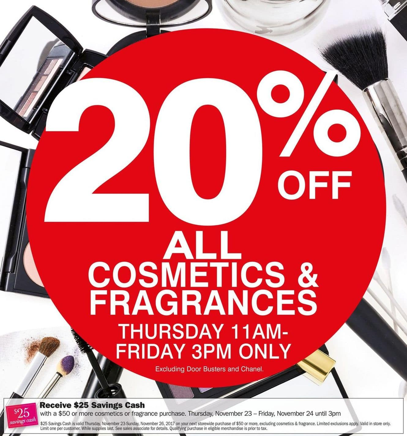 Bon-Ton Black Friday: Cosmetics and Fragrances, Select Varieties - 20% Off