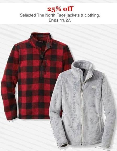 Rei cyber monday the north face jackets and clothing for Cyber monday deals mens dress shirts