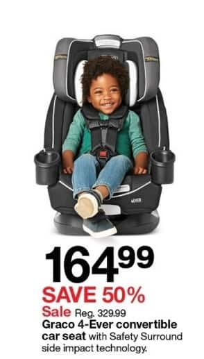 Graco 4 Ever Convertible Car Seat For 16499