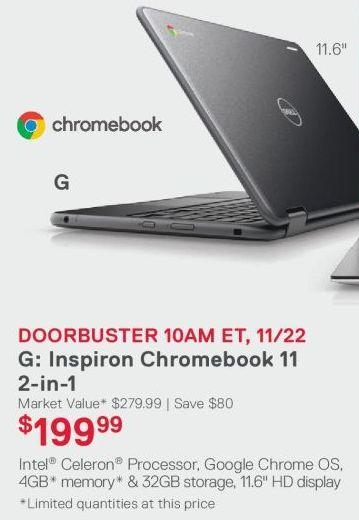 Dell Inspiron Chromebook 11 2-in1 11 6