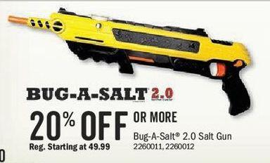 bass pro shops black friday bug a salt 2 0 salt gun 20 off or