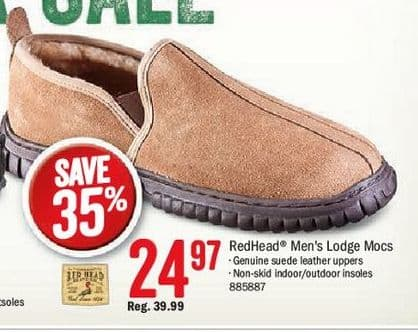 d4527697a Bass Pro Shops Black Friday  RedHead Men s Lodge Mocs for  24.97 ...