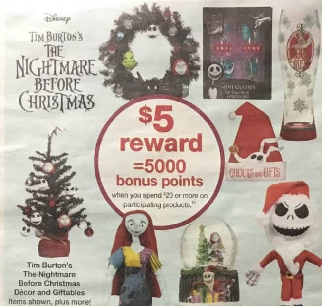 walgreens black friday tim burtons nightmare before christmas decor and giftables 5 in rewards