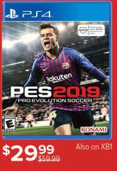 2367205e4eeeb GameStop Black Friday  Pro Evolution Soccer 2019  PS4 for  29.99 ...