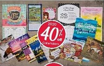 Craft Warehouse Black Friday: 2020 Calendars - 40% Off